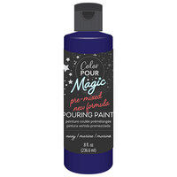 American Crafts - Color Pour Magic Collection - Pre-Mixed Pouring Paint - Navy