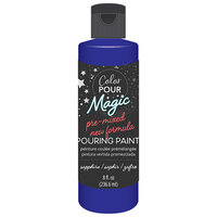 American Crafts - Color Pour Magic Collection - Pre-Mixed Pouring Paint - Sapphire