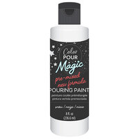 American Crafts - Color Pour Magic Collection - Pre-Mixed Pouring Paint - Snow