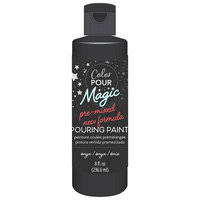 American Crafts - Color Pour Magic Collection - Pre-Mixed Pouring Paint - Onyx