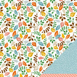 American Crafts - Amy Tangerine Collection - Ready Set Go - 12 x 12 Double Sided Paper - Afternoon Delight