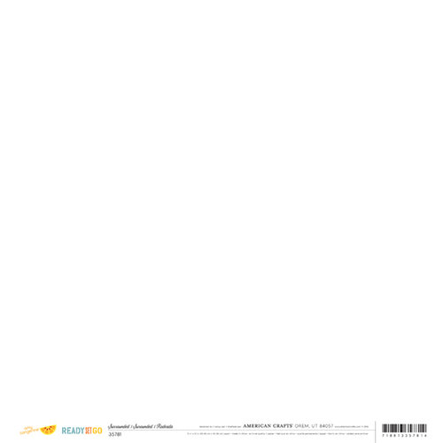 American Crafts - Amy Tangerine Collection - Ready Set Go - 12 x 12 Double Sided Paper - Surrounded
