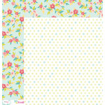 American Crafts - Dear Lizzy 5th and Frolic Collection - 12 x 12 Double Sided Paper - Pretty Parkway