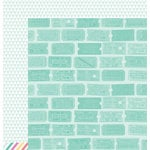 American Crafts - Dear Lizzy 5th and Frolic Collection - 12 x 12 Double Sided Paper - Cartwheel Court