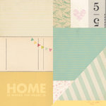 American Crafts - Dear Lizzy 5th and Frolic Collection - 12 x 12 Double Sided Paper - Sweet Street