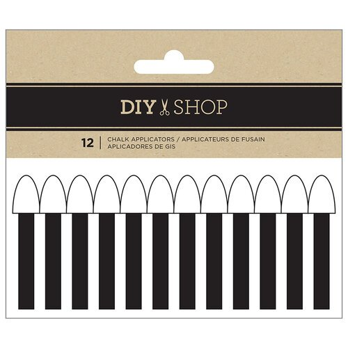 American Crafts - DIY Shop Collection - Chalk Applicators - Large and Small Tips