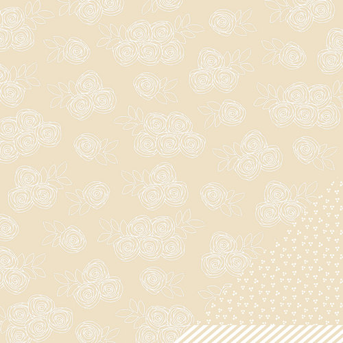 American Crafts - Amy Tangerine Collection - Yes, Please - 12 x 12 Kraft Paper - Bundle