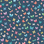 American Crafts - 12 x 12 Single Sided Paper - Whimsy