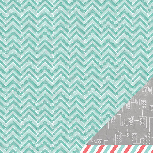American Crafts - Amy Tangerine Collection - Yes, Please - 12 x 12 Double Sided Paper - Consistent