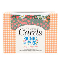 American Crafts - Picnic in the Park Collection - Boxed Cards