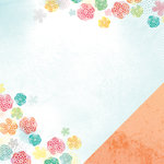 American Crafts - Amy Tangerine Collection - Yes, Please - 12 x 12 Double Sided Paper - Reflect