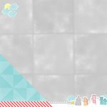 American Crafts - Amy Tangerine Collection - Yes, Please - 12 x 12 Double Sided Paper - Dreamy