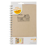 American Crafts - Amy Tangerine - Yes, Please - Daybook - Spiral - Original