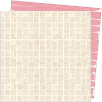 American Crafts - Late Afternoon Collection - 12 x 12 Double Sided Paper - Out of Office