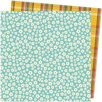 Amy Tangerine - Late Afternoon Collection - 12 x 12 Double Sided Paper - Stitched Together