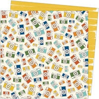 Amy Tangerine - Late Afternoon Collection - 12 x 12 Double Sided Paper - Afternoon Outing