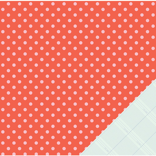 American Crafts - Dear Lizzy Lucky Charm Collection - 12 x 12 Double Sided Paper - Doting Dots
