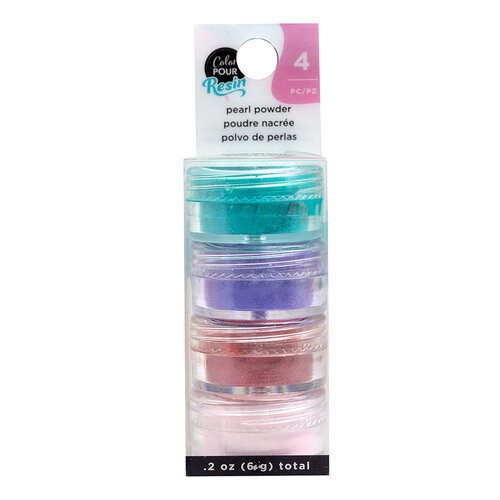 American Crafts - Color Pour Resin Collection - Pearlescent Powder - Colors
