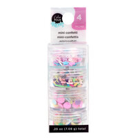 American Crafts - Color Pour Resin Collection - Mini Confetti - Pastel