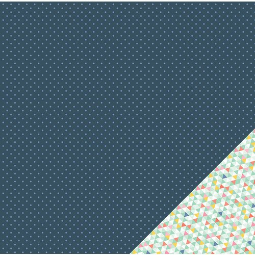 American Crafts - Dear Lizzy Lucky Charm Collection - 12 x 12 Double Sided Paper - Starlight