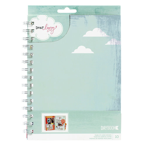 American Crafts - Dear Lizzy Lucky Charm Collection - Daybook - Spiral