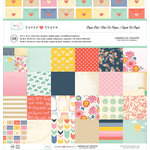 American Crafts - Dear Lizzy Lucky Charm Collection - 12 x 12 Paper Pad