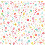 American Crafts - 12 x 12 Single Sided Paper - Lucky Floral