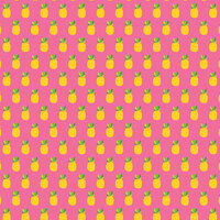 American Crafts - 12 x 12 Single Sided Paper - Pineapple Crush