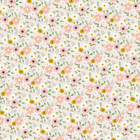 American Crafts - 12 x 12 Single Sided Paper - Woodland Floral