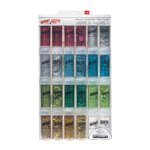 American Crafts - Christmas - Wow! and Spark - Glitter - Mixed Value Pack - Christmas