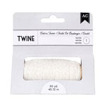 American Crafts - Bakers Twine - Vanilla