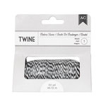 American Crafts - Bakers Twine - Black