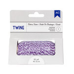 American Crafts - Bakers Twine - Amethyst