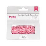 American Crafts - Bakers Twine - Crimson