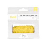 American Crafts - Hemp Twine - Lemon