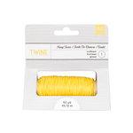 American Crafts - Hemp Twine - Sunflower