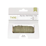American Crafts - Hemp Twine - Olive