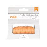 American Crafts - Hemp Twine - Apricot