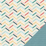 Pink Paislee - Solstice Collection - 12 x 12 Double Sided Paper - Panama City