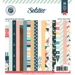 Pink Paislee - Solstice Collection - 6 x 6 Paper Pad