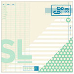 American Crafts - Shimelle Collection - 12 x 12 Double Sided Paper - Dowdy