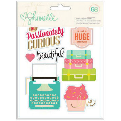 American Crafts - Shimelle Collection - Small Sticker Book