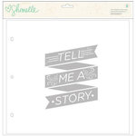 American Crafts - Shimelle Collection - 12 x 12 Page Overlays