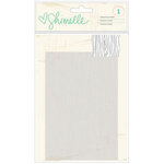 American Crafts - Shimelle Collection - Embossing Folder - 4 x 6 - Woodgrain