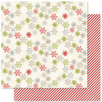 Pink Paislee - Merry and Bright Collection - Christmas - 12 x 12 Double Sided Paper - Snow