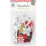 Pink Paislee - Merry and Bright Collection - Christmas - Ephemera