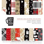 American Crafts - Christmas - 6 x 6 Paper Pad - Hot Cocoa