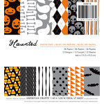 American Crafts - Halloween - 6 x 6 Paper Pad - Haunted