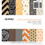 American Crafts - Halloween - 6 x 6 Paper Pad - Spooky