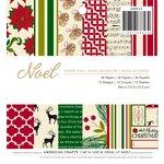 American Crafts - Christmas - 6 x 6 Paper Pad - Noel